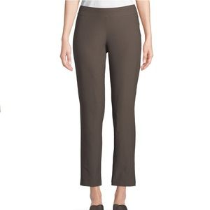 Eileen Fisher Washable Stretch Crepe Straight Leg